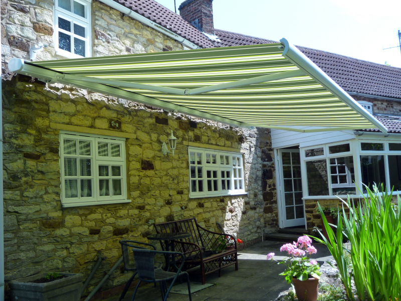 Stone Cottage Awning