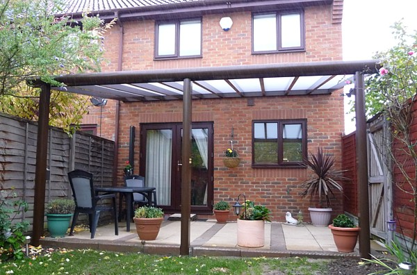 Samson Piazza Aluminium Patio Roof Terrace Cover