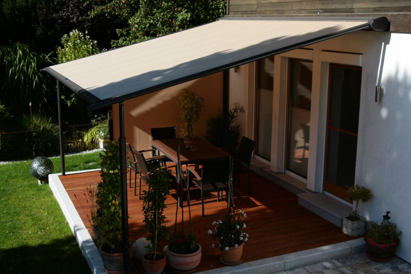 Markilux Pergola Electric Fabric Roof