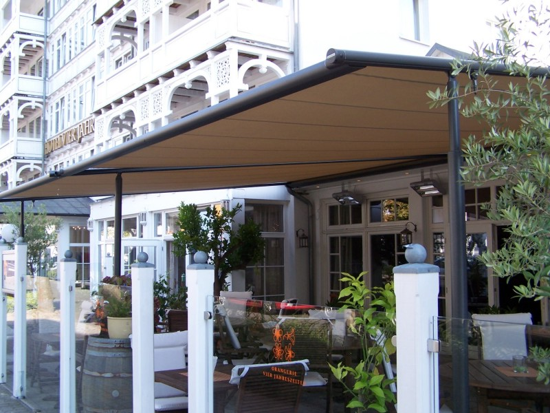 Markilux Pergola for Hotel