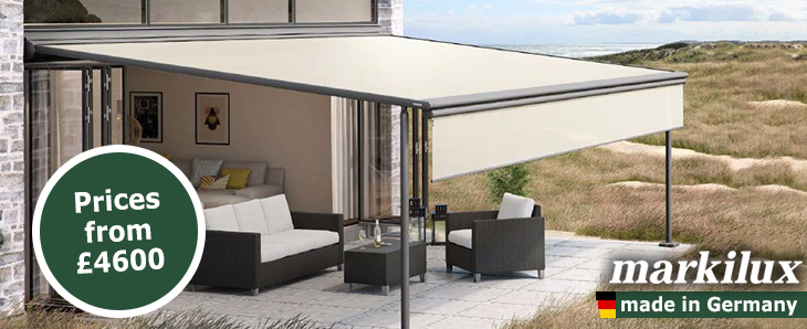 - Markilux Pergola Retractable Patio Awning Terrace Cover