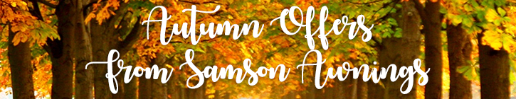 Autumn offers on glass verandas