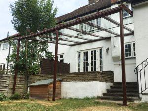 Glass Veranda Installation