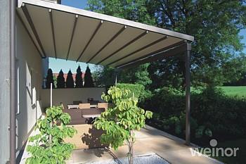 Weinor Pergotex Adjustable Folding Roof System Weinor