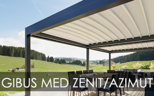 Gibus Med Zenit and Azimut