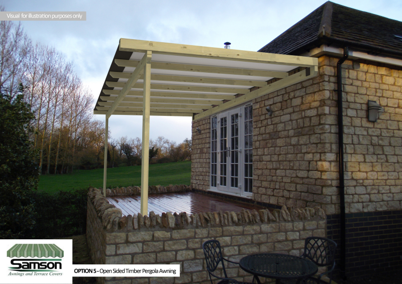 Cgi Ideas Photo Gallery From Samson Awnings Terrace Covers