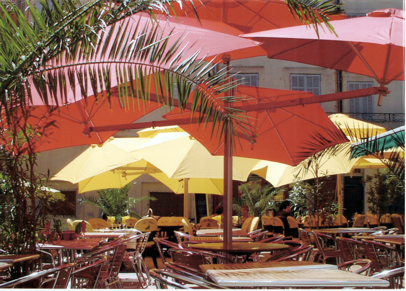 Paraflex Side Arm Umbrellas