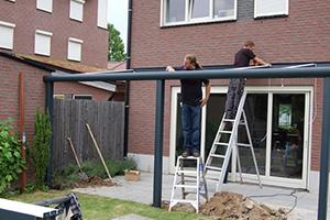 Samson Piazza Aluminium Patio Roof Terrace Cover