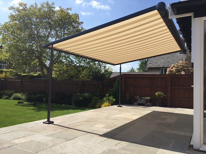 Beau Fabric Retractable Roof. Markilux Pergola. Markilux Pergola