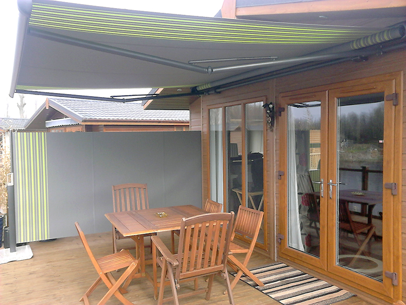 Awning and Side Screen