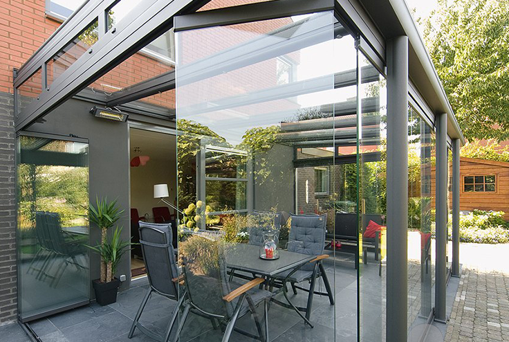 Glass Rooms And Glass Verandas Samson Awnings