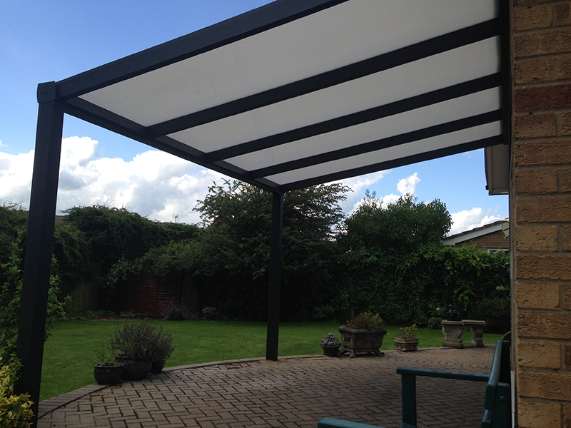 Fixed Roof Terrace Covers From Samson Awnings Amp Terrace Covers