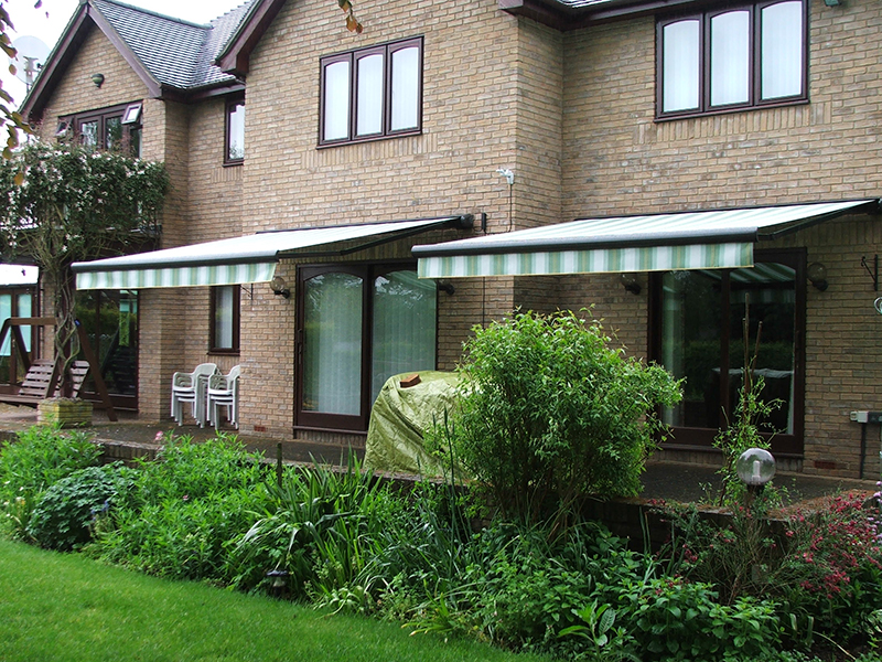 Awnings with Valances