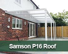 Samson P16 Polycarbonate roof