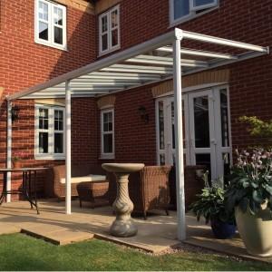 G6 Glass veranda installed