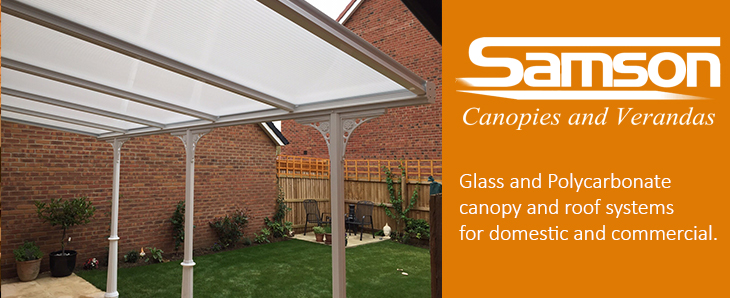 Samson Offer Several Glass Or Polycarbonate Canopy Systems For Both Domestic And Commercial Applications A Fixed Properly Installed Will Remove All