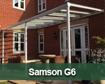 Samson G6 Glass Canopy and Veranda