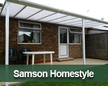 Samson Homestyle Terrace Cover and Carport