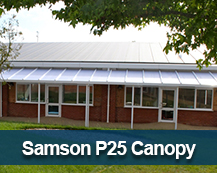 Samson P25 Commercial Canopy