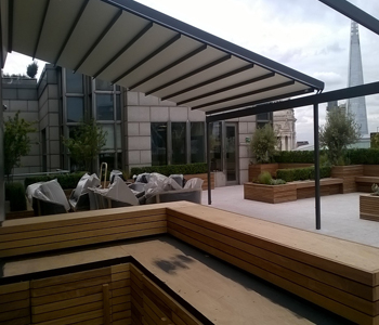 Weinor Pergotex Retractable Canopy