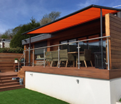 Click to view Markilux Retractable Roof & 620 Zip Screen Blind case study