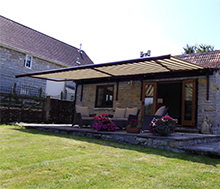 Click to view retractable awning case study