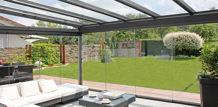 Glass Rooms & Patio Awnings u0026 Terrace Covers Glass Garden Canopies