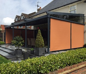 Click to view Folding Roof Canopy Case Study