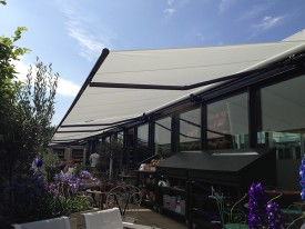 Awnings for a shop