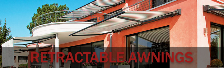Retractable and Self Supporting Awnings
