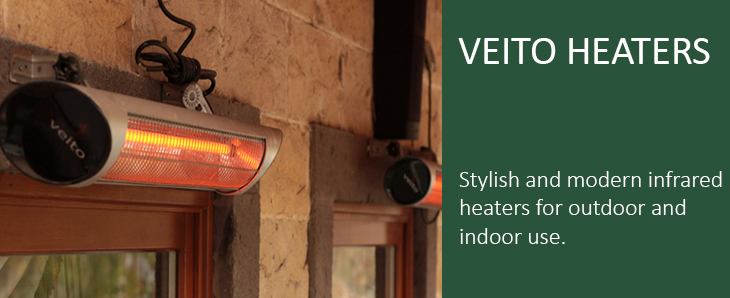Veito Heating Solutions Veito Carbon Infrared Heaters For Patios