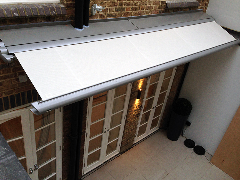 Small Terrace Awning