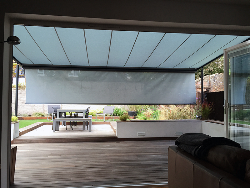 Pergola with shade Plus