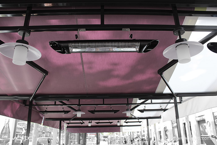 Blade Butterfly Awning