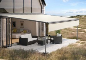 Marklilux Pergola 110 with Drop Down Valance