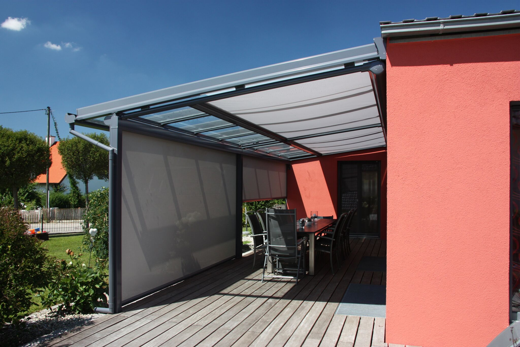 Lean to with Shade Plus
