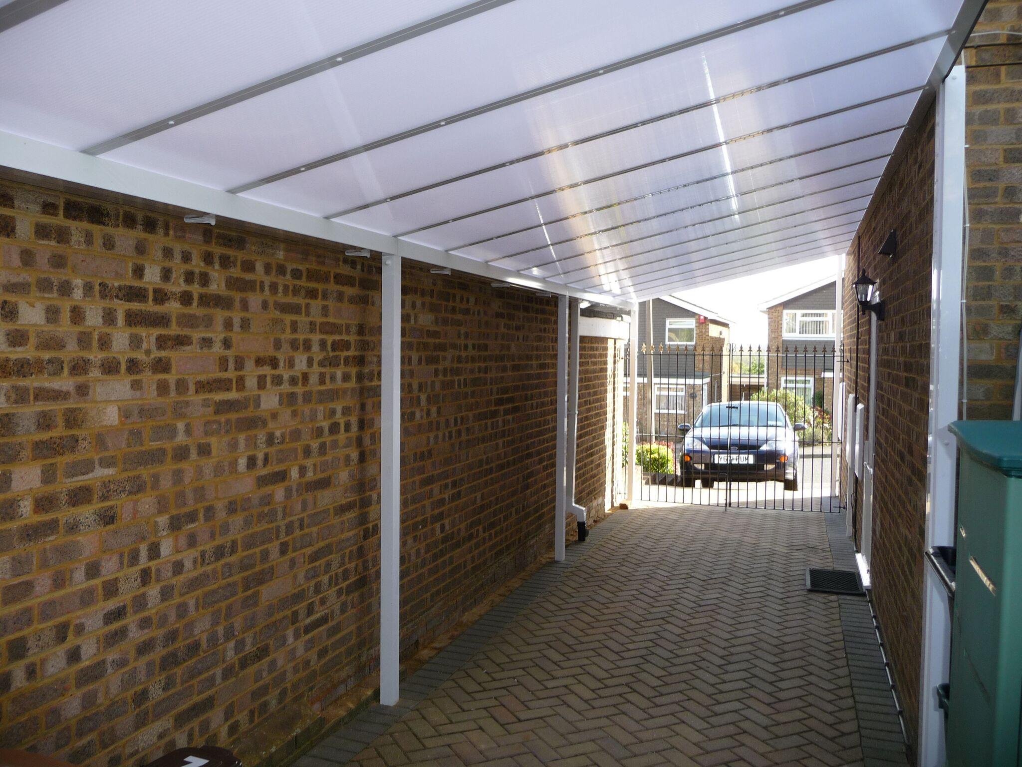 Narrow Carport