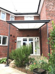 Domestic Markilux Pergola Installation