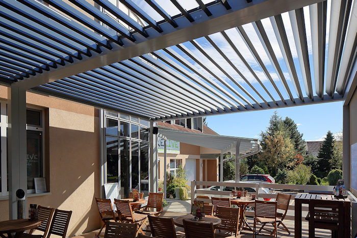 Milwood Pergola Agava commercial