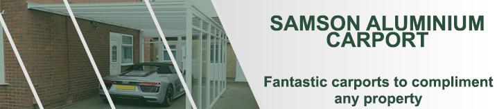 Samson Aluminium Carport banner