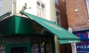 Retail awning leicestershire