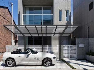 Modern urban carport