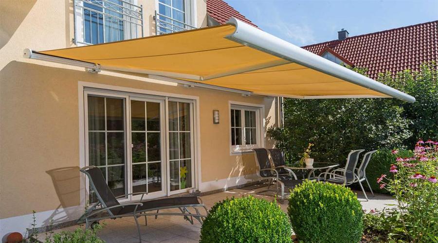 Large patio awning