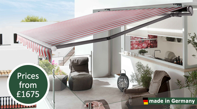 Markilux 1700 Retractable Awning Samson Awnings