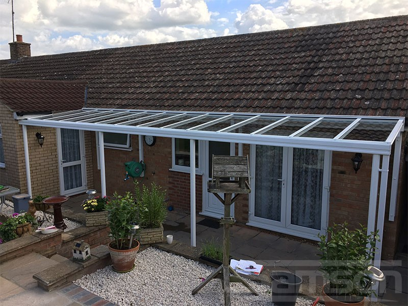 Glass Veranda Installed on Bungalow