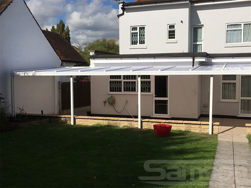 XL Polycarbonate Roof System Installation