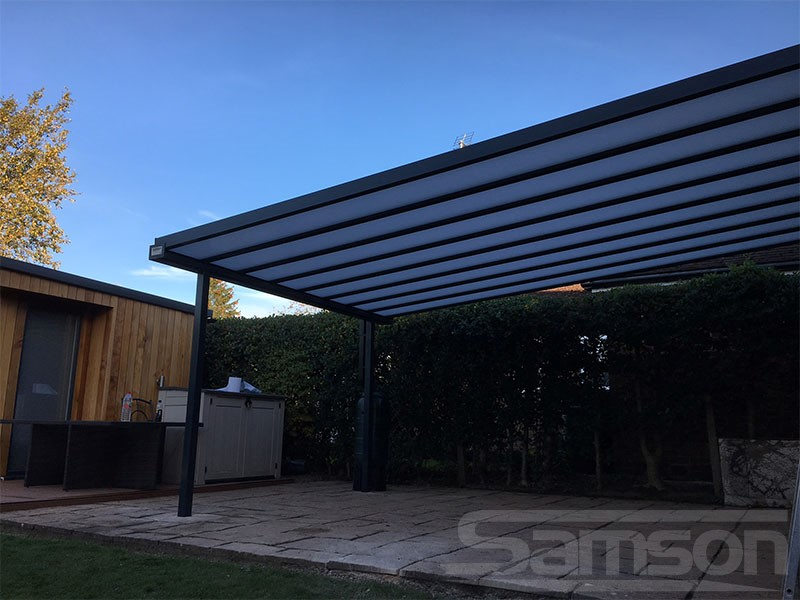 Polycarbonate Roof System Installation