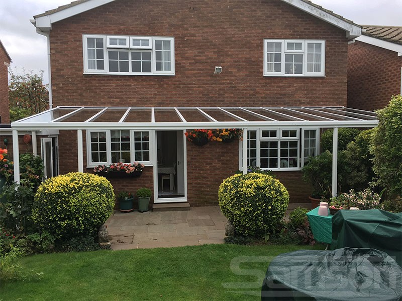 Extra Wide Glass Roof System Installation