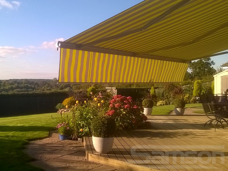 Awnings with Drop Valance Installaiton