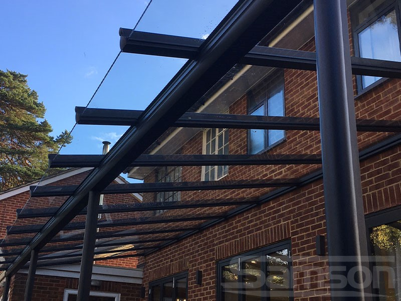 Glass Canopy Installation